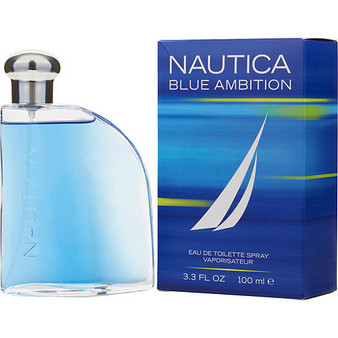 Nautica Blue Ambition By Nautica Edt Spray 3.3 Oz
