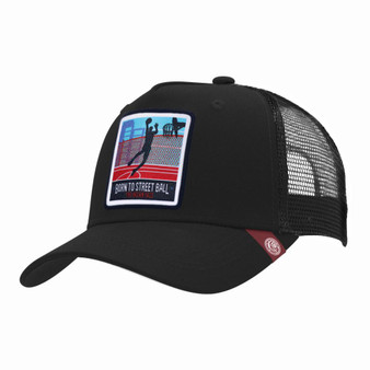 Trucker Cap Born To Street Ball Black The Indian Face For Men And Women