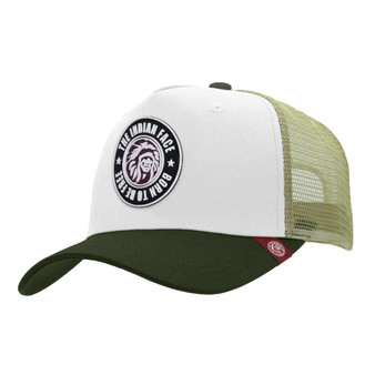 Trucker Cap Born To Be Free White The Indian Face For Men And Women - 45516959