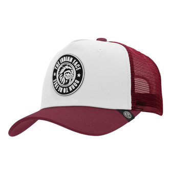 Trucker Cap Born To Be Free White The Indian Face For Men And Women - 45516960