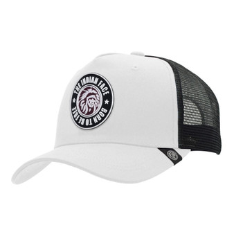 Trucker Cap Born To Be Free White The Indian Face For Men And Women - 45516965
