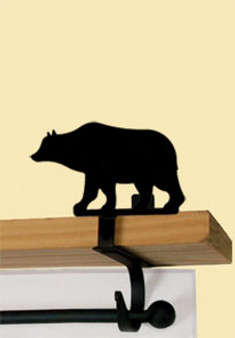 Bear - Curtain Shelf Brackets