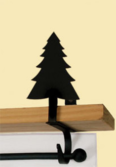 Pine Tree - Curtain Shelf Brackets
