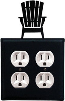 Adirondack - Double Outlet Cover