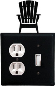 Adirondack - Single Outlet And Switch Cover