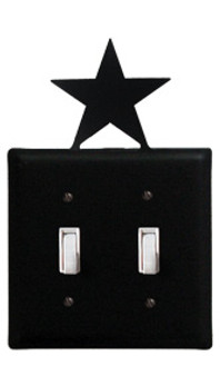 Star - Double Switch Cover