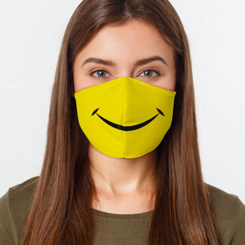 Smiley Face Preventative Face Mask