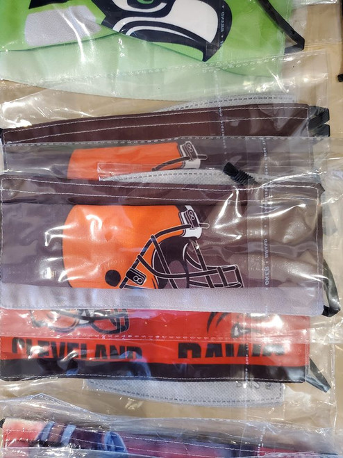 Browns Face Mask