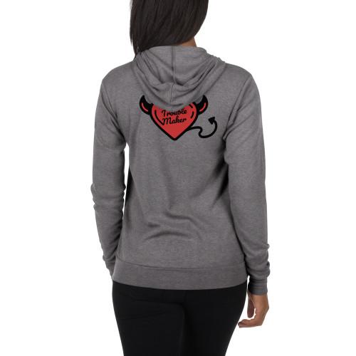Fierce1 Unisex zip hoodie Trouble Maker