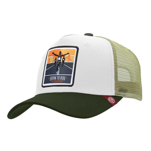 Trucker Cap Born To Run White The Indian Face For Men And Women