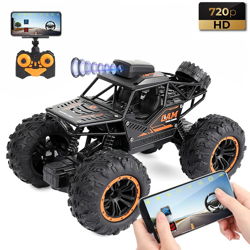 RC Car YT6602 2.4G WIFI FPV HD Camera 1:18 4WD Off-road High-speed Remote Control Drift Car Climbing Car Children's Toys