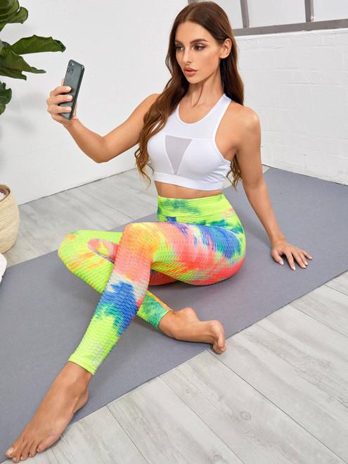 Butt Lifting Anti Cellulite Leggings - 45547783