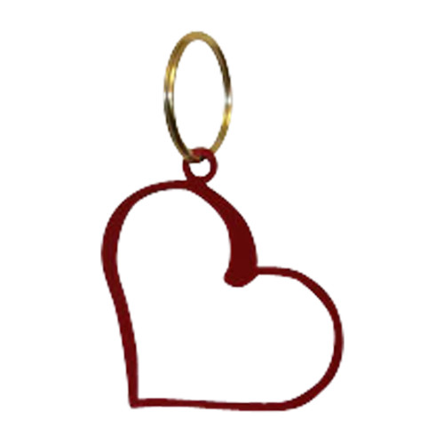 Heart - Key Chain - Red
