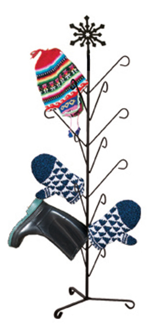 Snowflake - Mitten Or Boot Dryer Holds 8 Pair