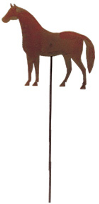 Horse - Rusted Garden Stake