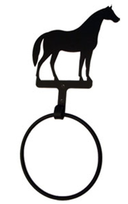 Standing Horse - Towel Ring