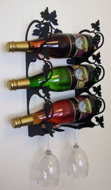 Grapevine Wine Rack - Wall Mount Small
