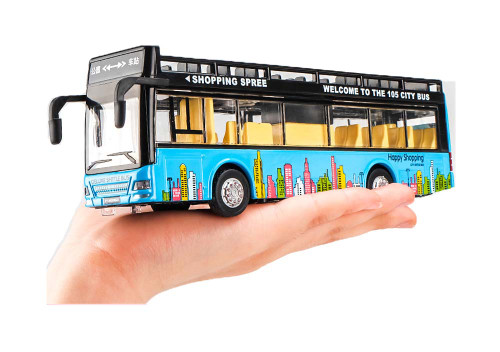 Bus/police/school Car Toy With Lights & Sounds For Toddlers/kids Gift, A3