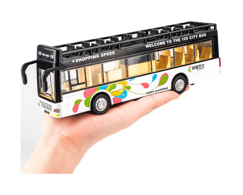 Bus/police/school Car Toy With Lights & Sounds For Toddlers/kids Gift, A2