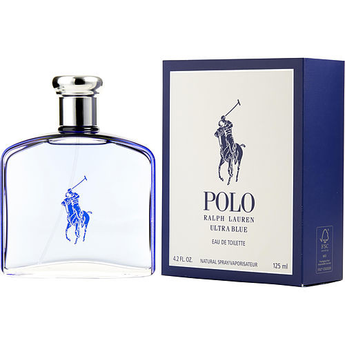 Polo Ultra Blue By Ralph Lauren Edt Spray 4.2 Oz