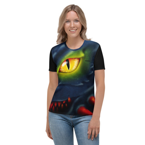 Women's T-shirt Dragon