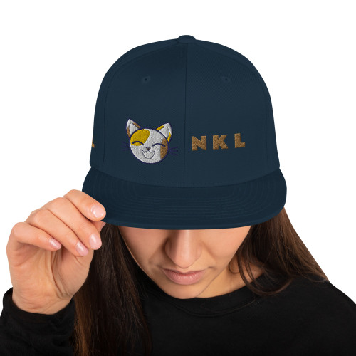 Snapback Hat NATIONAL KITTY LEAGE