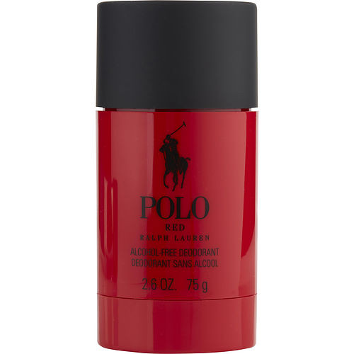 Polo Red By Ralph Lauren Deodorant Stick Alcohol Free 2.6 Oz