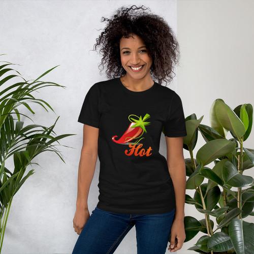 Short-Sleeve Unisex T-Shirt CHILLI 1