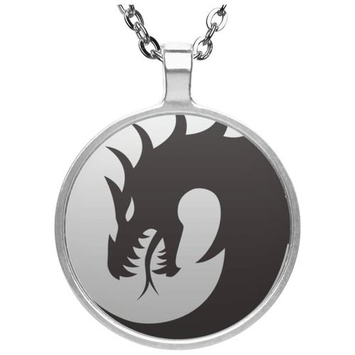 dragon-2640113_1280 UN4686 Circle Necklace