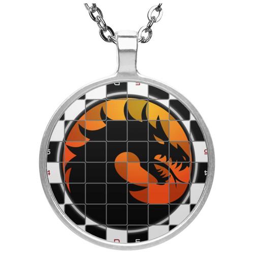 chess-4538820 UN4686 Circle Necklace