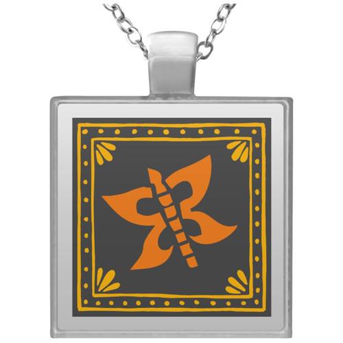 embroidery-5454516 UN4684 Square Necklace