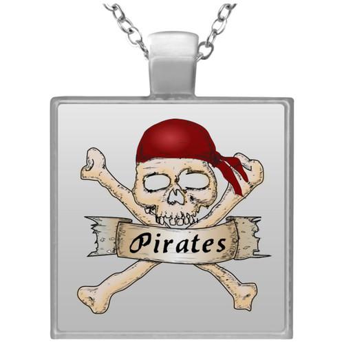 pirates-161803 UN4684 Square Necklace