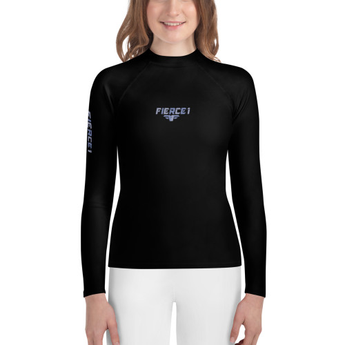 Youth Rash Guard BLUE