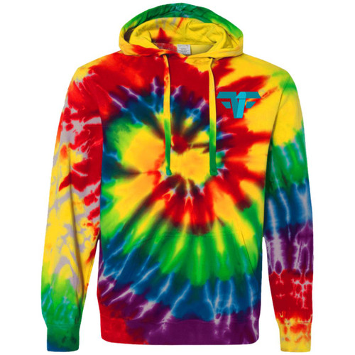 Untitled-2 F1WITH A 1B CD877 Tie-Dyed Pullover Hoodie