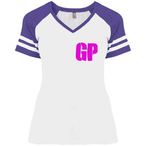 Untitled-1GPGP DM476 Ladies' Game V-Neck T-Shirt