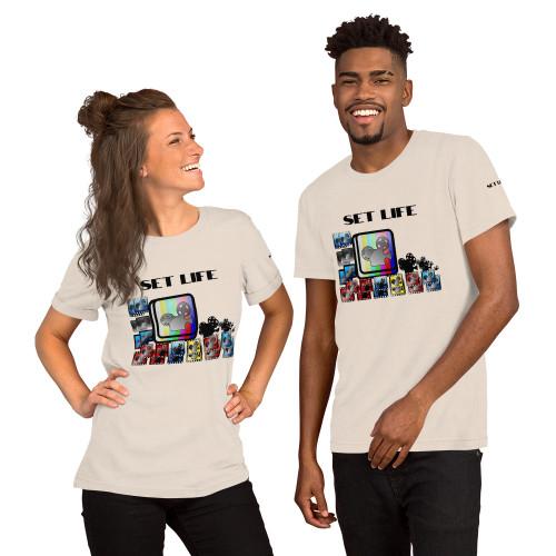 Short-Sleeve Unisex T-Shirt SET LIFE1