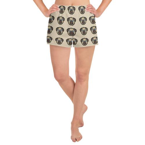 Women's Athletic Short Shorts dog2
