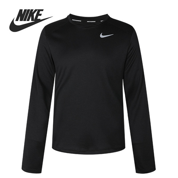 Original New Arrival  NIKE M NK PACER TOP CREW  Men's T-shirts  Long sleeve Sportswear