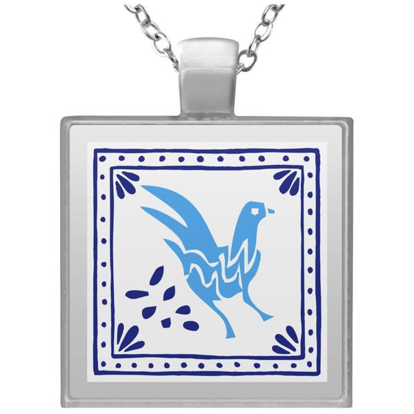 embroidery-5454515 UN4684 Square Necklace