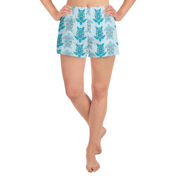 Women's Athletic Short Shorts turt