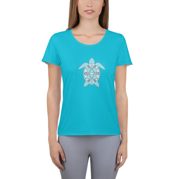 All-Over Print Women's Athletic T-shirt tytre