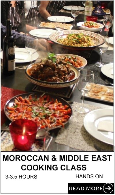 Moroccan and Middle Eastern Cooking Class