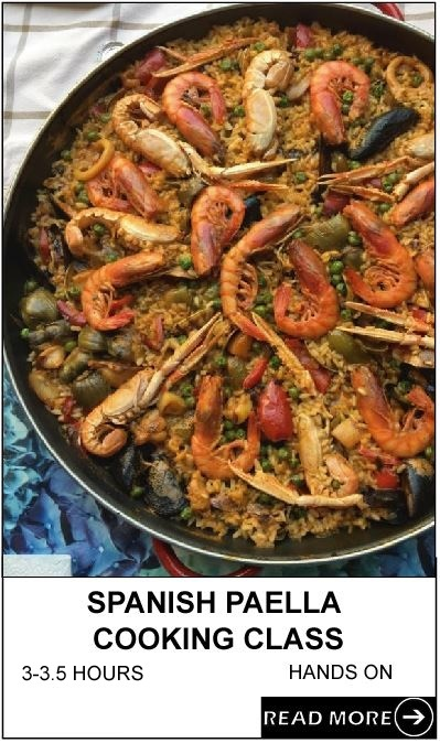 Spanish Paella Cooking Class