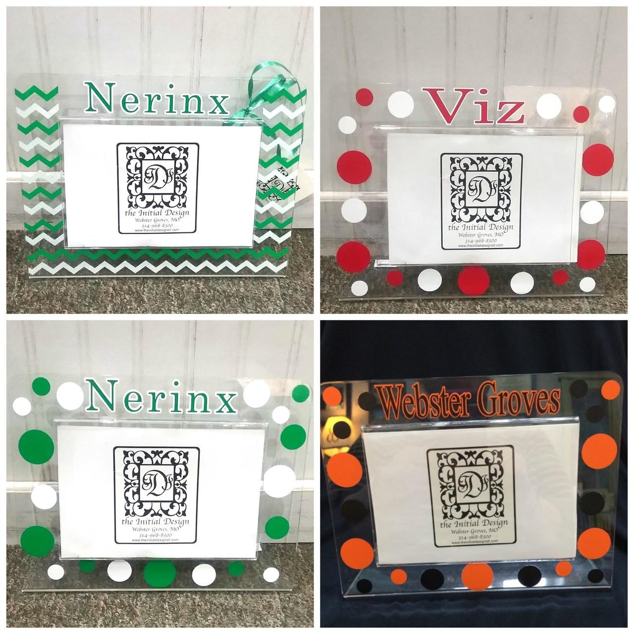 Pick Your School Custom Acrylic Frame