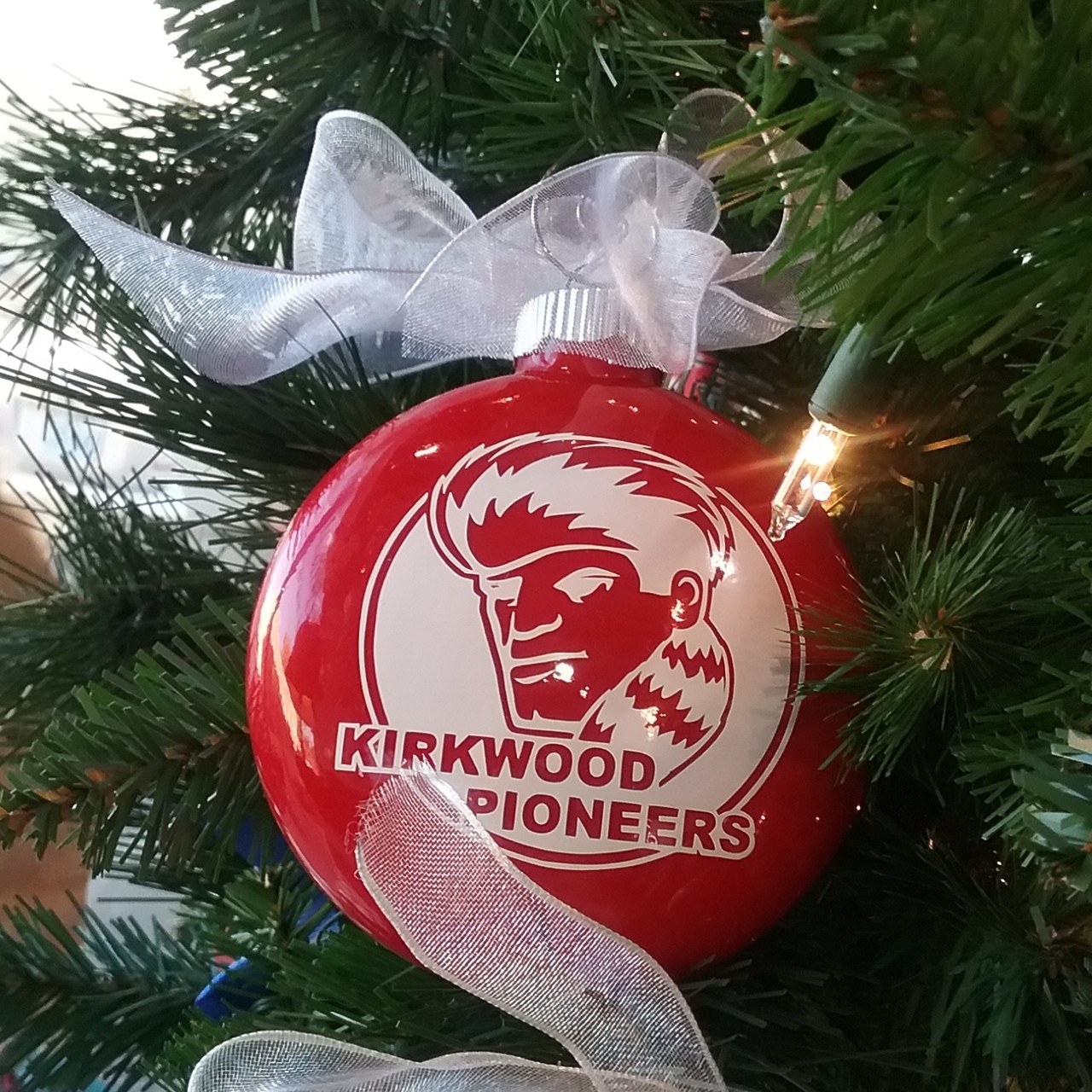 Kirkwood Pioneers Ornament | The Initial Design | Shop Small Webster ...