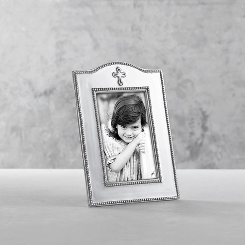 Beatriz Ball Silver Cross Frame
