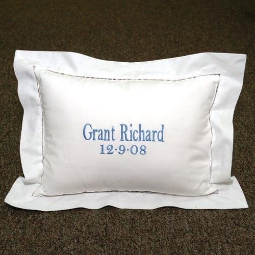 Tailored Boudoir Pillow