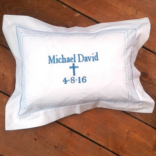 Personalized Baptism Pillow