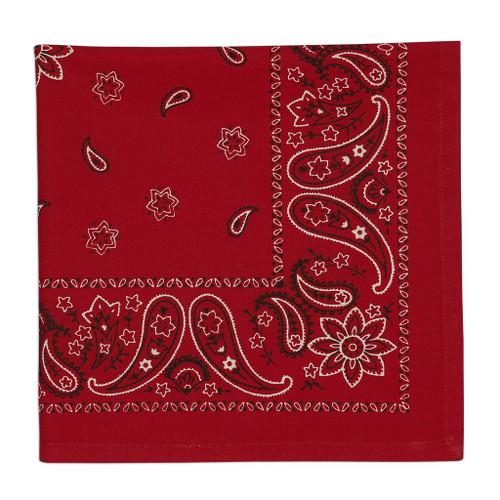 Cloth bandanna print napkins, set of 4
