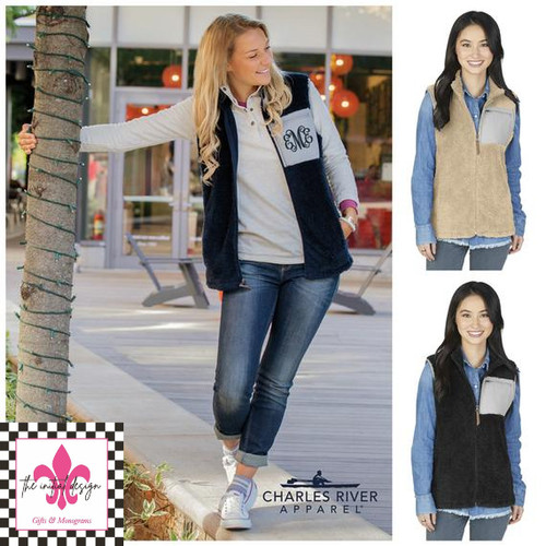 Charles Rivers Sherpa Vest